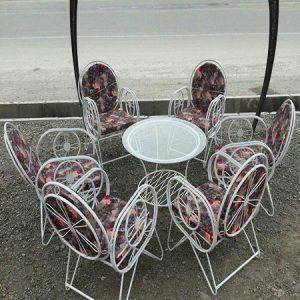 صندلی فضای باز ویلاسازه 6 نفره