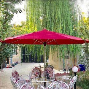 سایه بان چتری پایه وسط قطر 3 متری