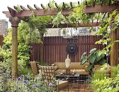 باغچه بام سبز